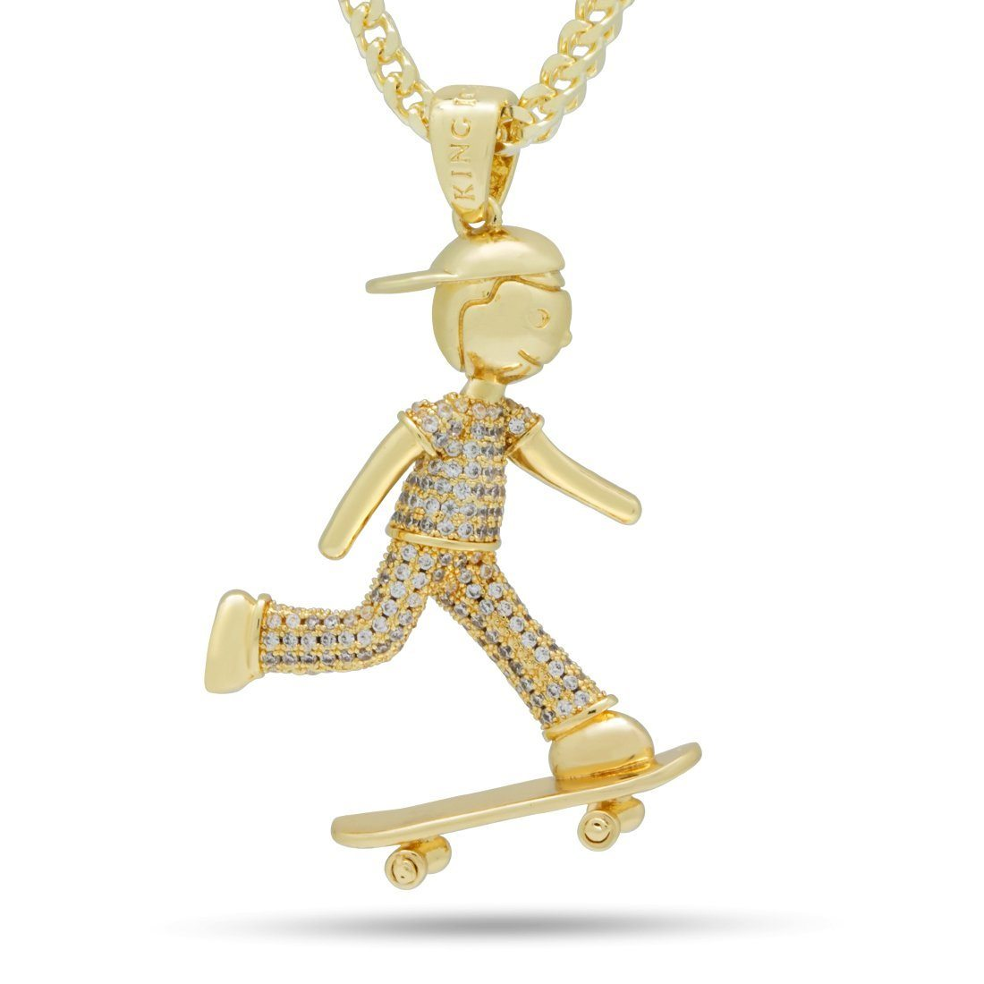 Image of The Skate Life Necklace
