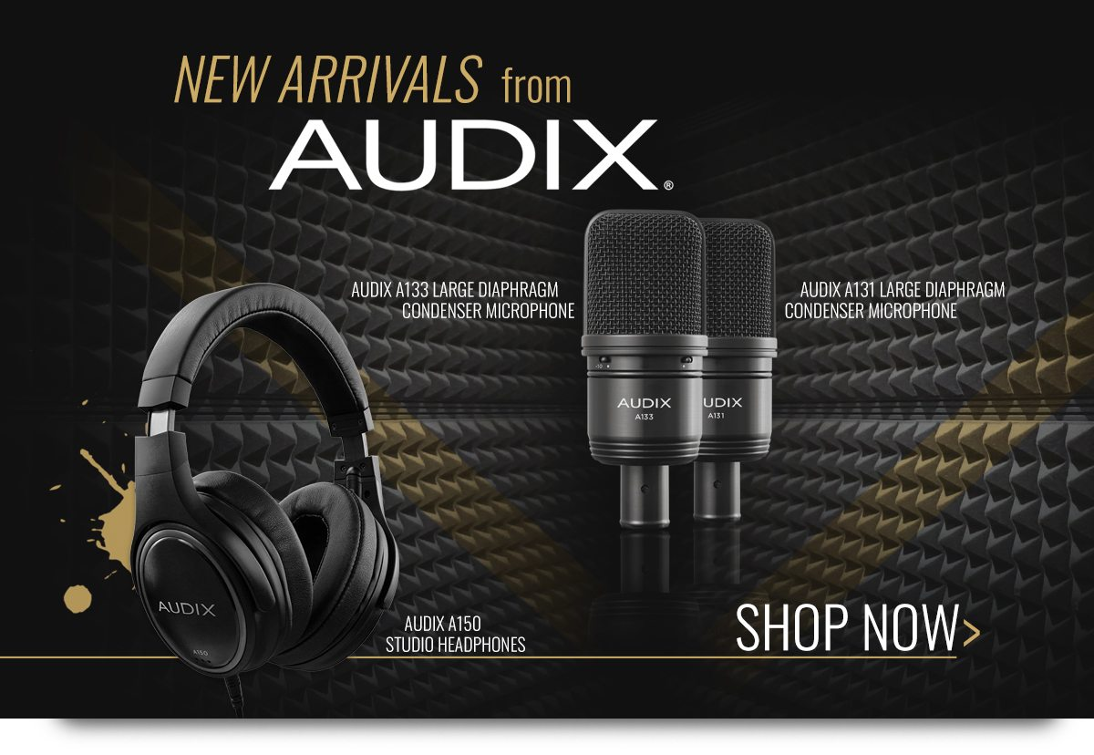 New Arrivals From Audix