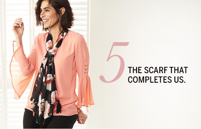 The Love List. 5 pieces we absolutely adore... for Valentine's Day & more. 5. The scarf that completes us.