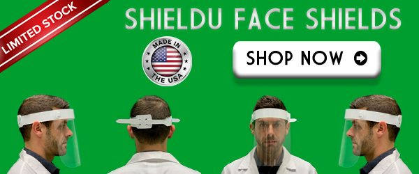 ShieldU Face Shields | In Stock Now
