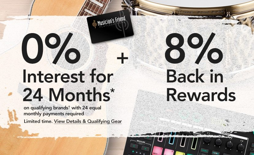 24-Mo. Financing* on Qualifying Purchases. Plus, earn 8% back in Rewards Limited time. Get Details.