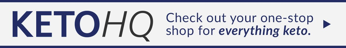 KETOHQ | Check out your one-stop shop for everything keto.
