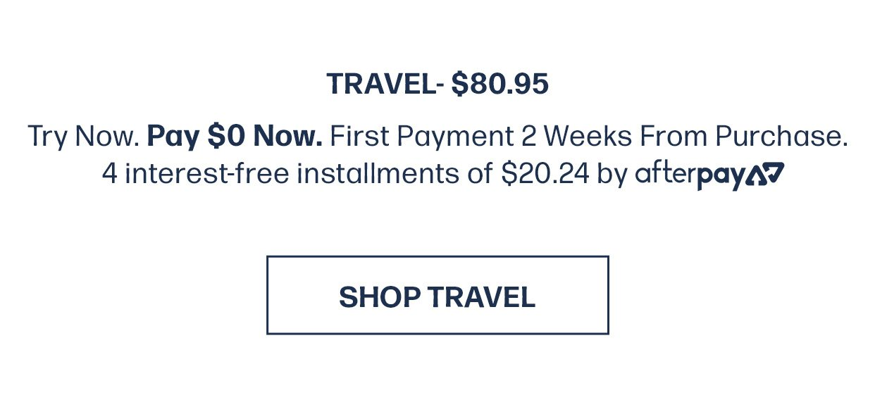 SHOP TRAVEL NOW