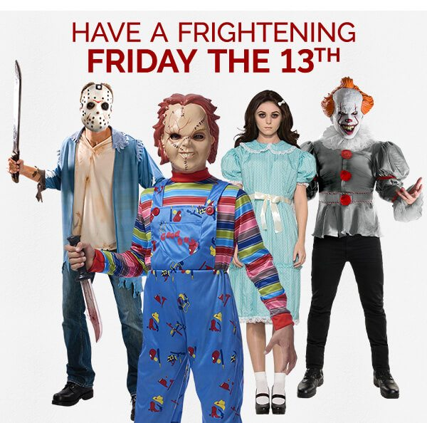​Have a frightening Friday the 13th
