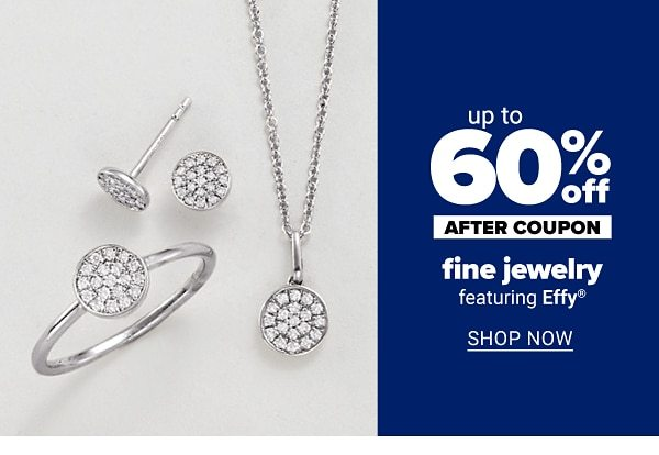 Up to 60% off fine jewelry - after coupon - featuring Effy. Shop Now.