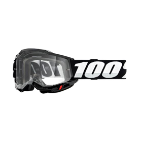 100%, accuri goggles with clear lens