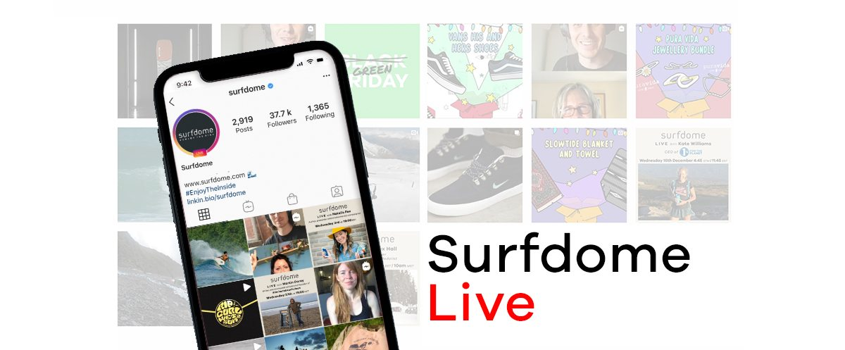 Surfdome Live | Follow us on Instagram