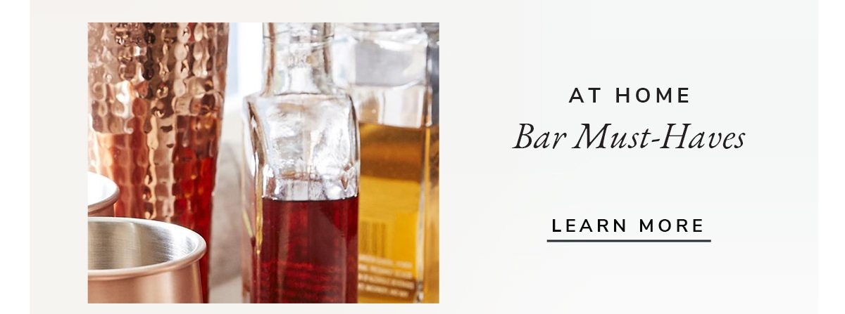 At home Bar Must-Haves | SHOP NOW