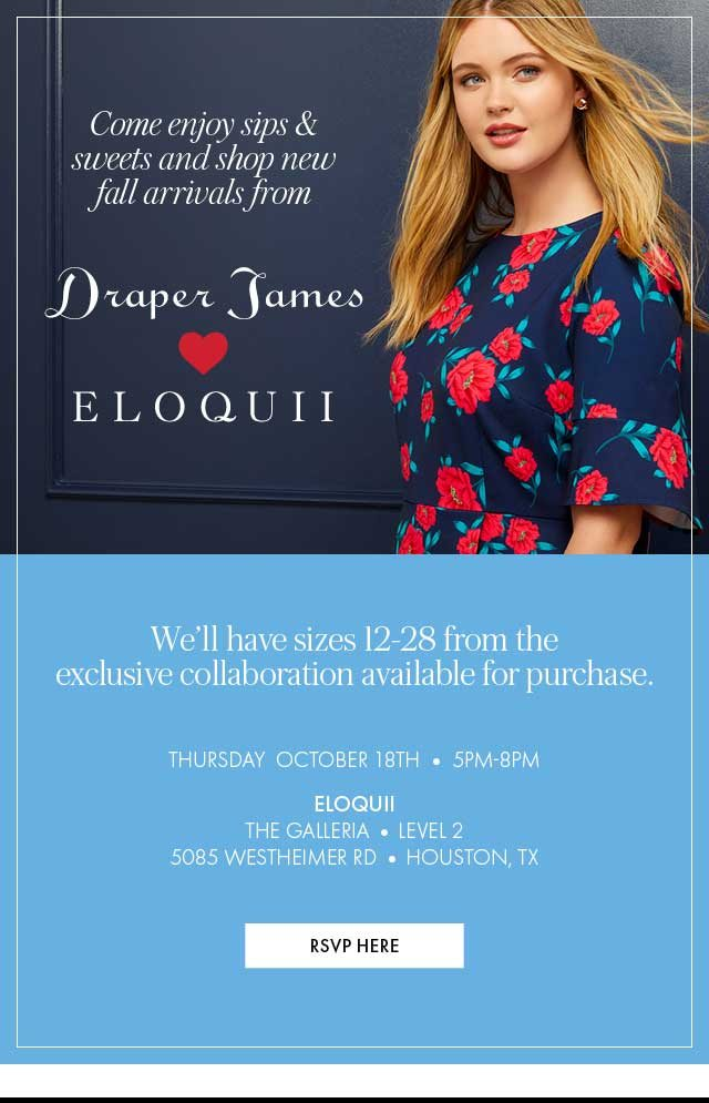 a2e6015f104 You re Invited! Reese s NEW Draper James x ELOQUII Fall Collection ...