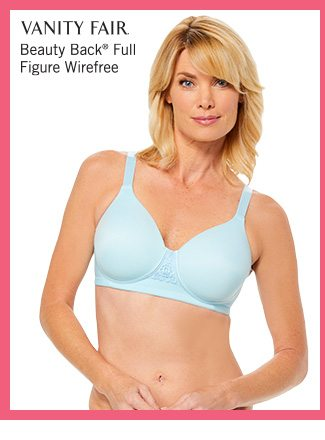Shop Vanity Fair Beauty Back Full Figure Wirefree