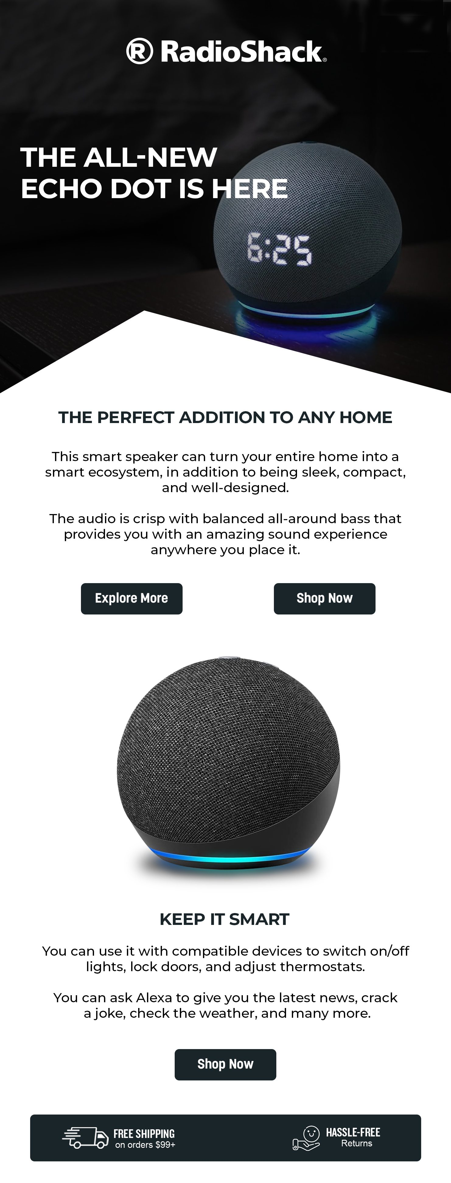 The All New Echo Dot Is Here