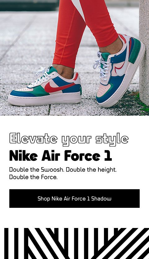 Nike Air Force 1 'Shadow' – The Force