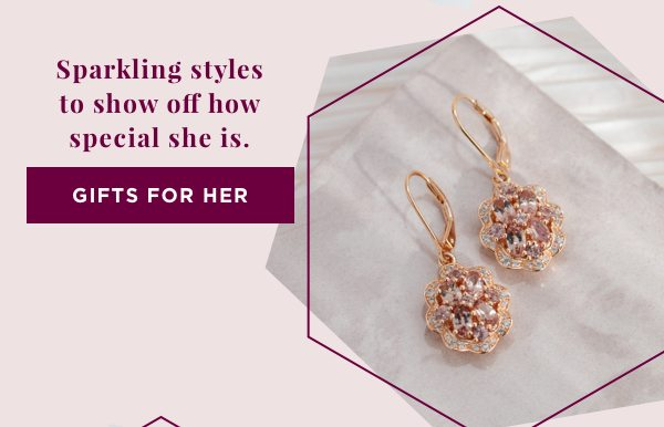 Sparkling styles to show off how special she is