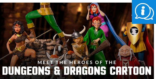 Meet the Heroes of the Dungeons & Dragons Cartoon