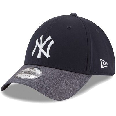 New York Yankees New Era Prolight Batting Practice 39THIRTY Flex Hat - Navy/Heathered Gray