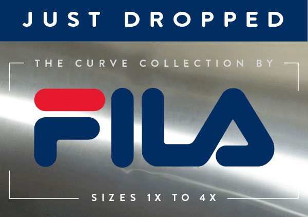 JUST DROPPED - The Curve Collection by FILA