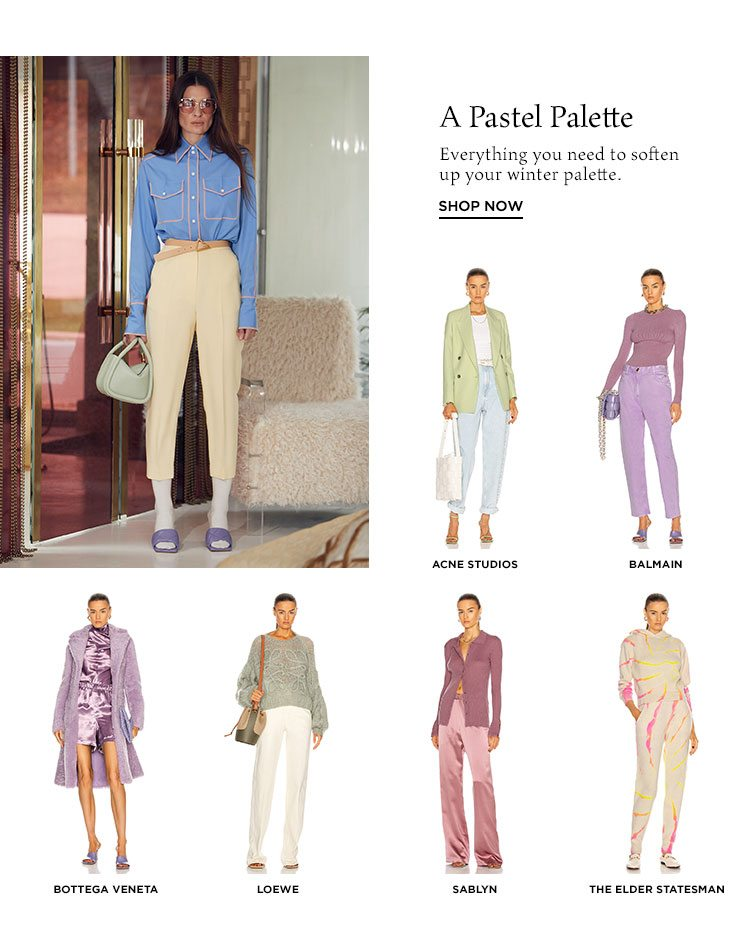 A Pastel Palette - Shop now