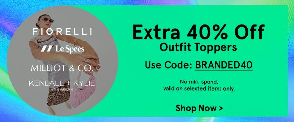 Extra 40% Off Accessories