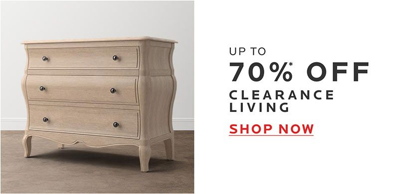 Up to 70% Off Clearance Living