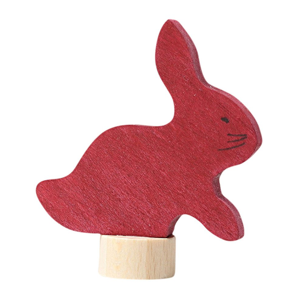bunny birthday ring ornament