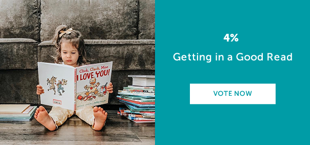 Getting in a Good Read? VOTE NOW >>