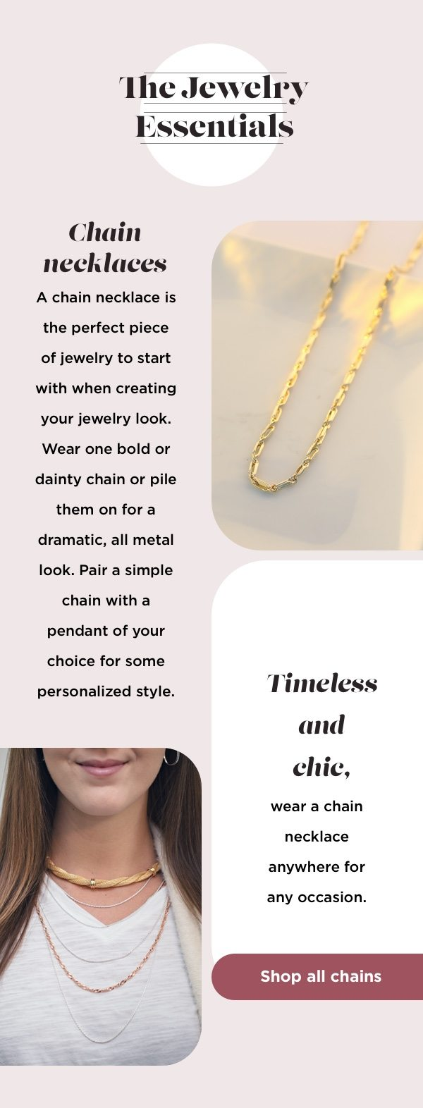 The Jewelry Essentials: Chain Necklaces