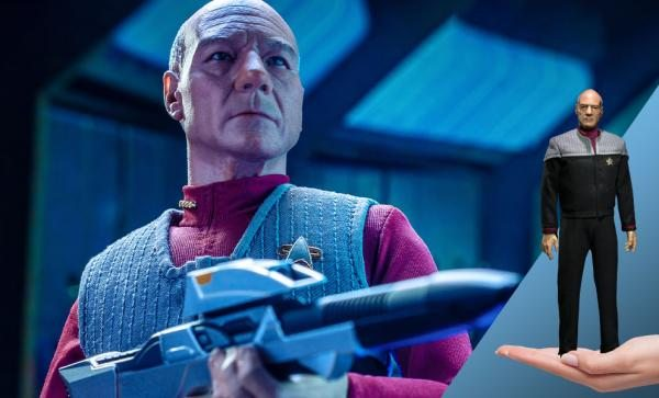 Captain Jean-Luc Picard Sixth Scale Figure by EXO-6