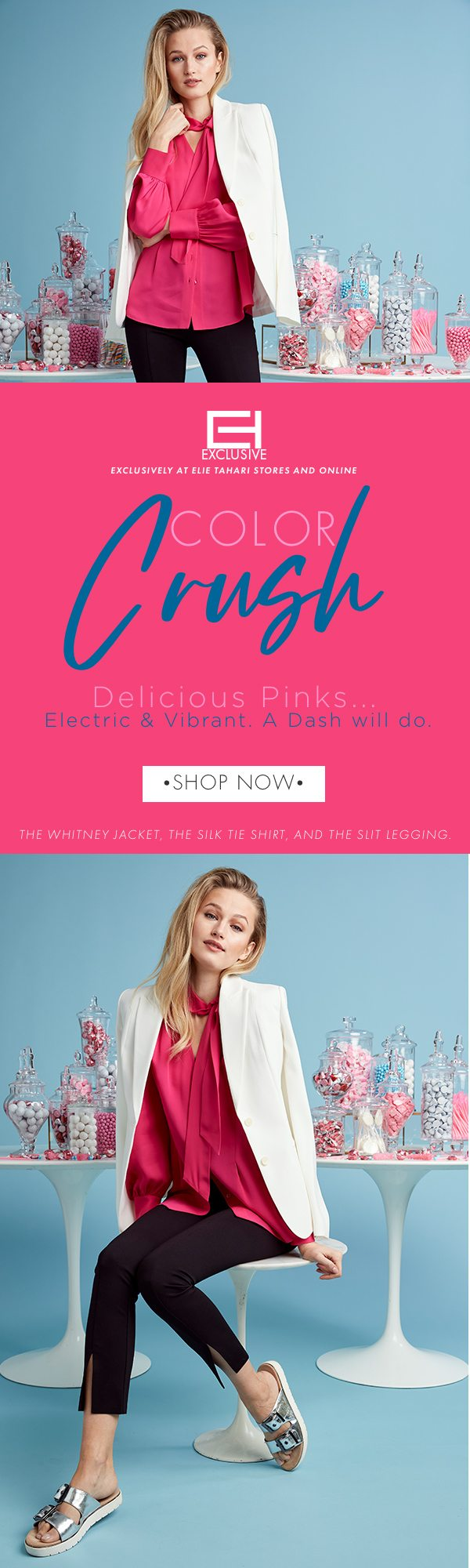 Color Crush - Delicious Pinks - Electric & Vibrant. A Dash will do.