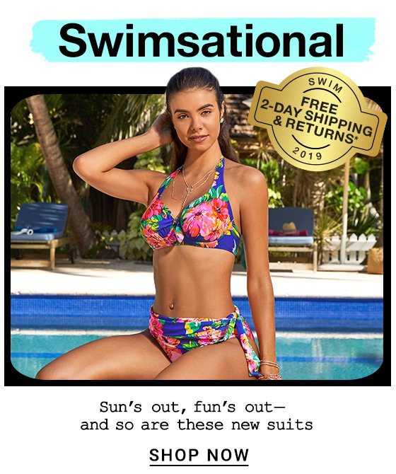 baf6b8a4dea Our Newest Swimsuits + Free Shipping   Returns! - Bare Necessities ...