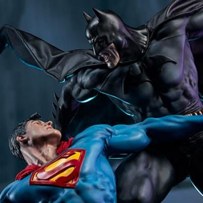 Batman vs Superman - Diorama