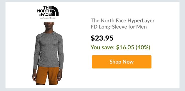 The North Face HyperLayer FD Long-Sleeve for Men