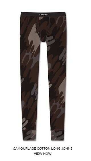 CAMOUFLAGE COTTON LONG JOHNS. VIEW NOW.