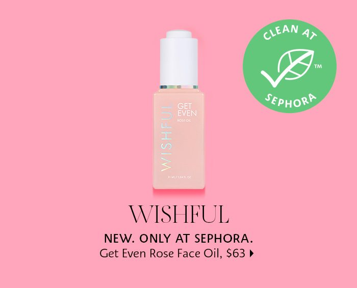 Wishful Get Even Rose Face Oil