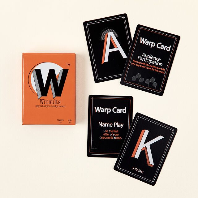 Winsults Roasting Card Game