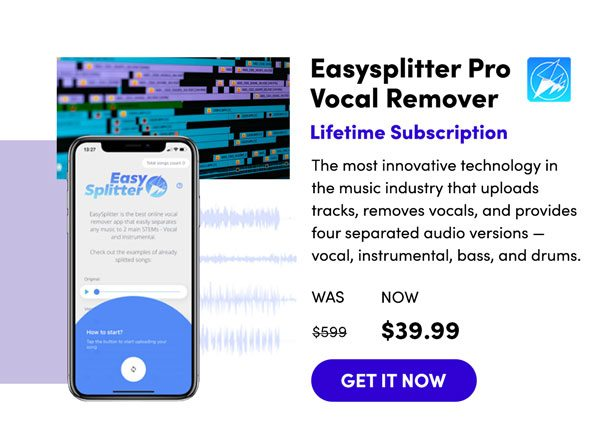 Easysplitter Pro Vocal Remover   Get It Now