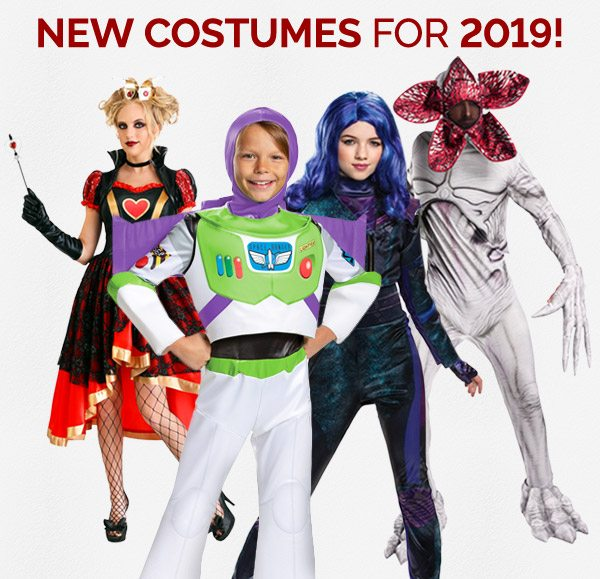 New Costumes for 2019!