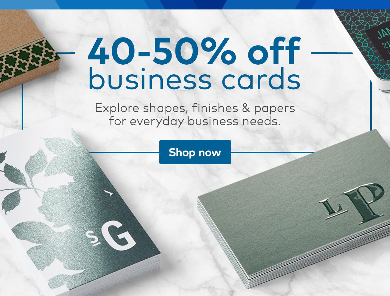 Get 40 50 Off Any Business Card Vistaprint Email Archive