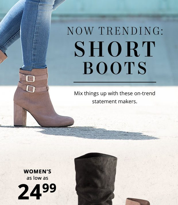 You'll Fall for These Short Boots