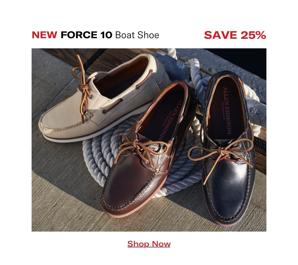 Force 10 Boat Shoe - Save 25%