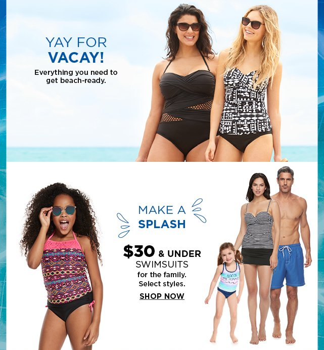 5582be014f9 Save $10 on a sea of Spring Break-worthy looks. - Kohl's Email Archive