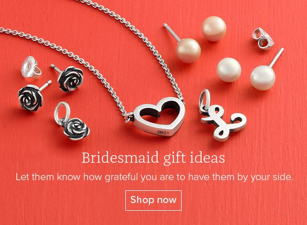 Bridesmaid gift ideas - Let them know how grateful you are to have them by your side. Shop now