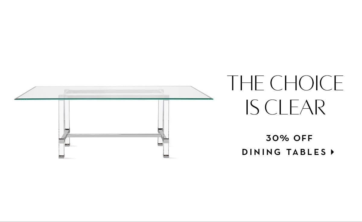 20% off dining tables