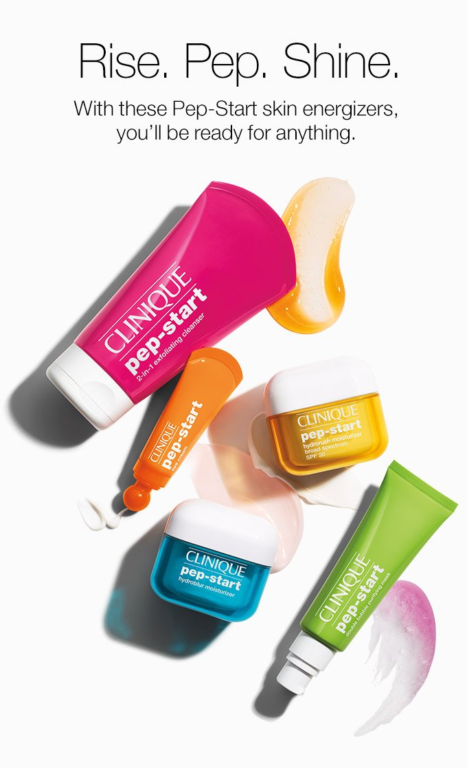 Instant skin energizers FREE in your 7-pc. gift. With purchase. - Clinique Online Email Archive