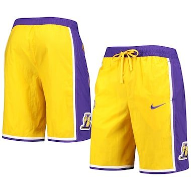 Nike Los Angeles Lakers Gold Courtside Heritage Shorts