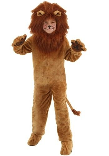 Kid's Deluxe Lion Costume