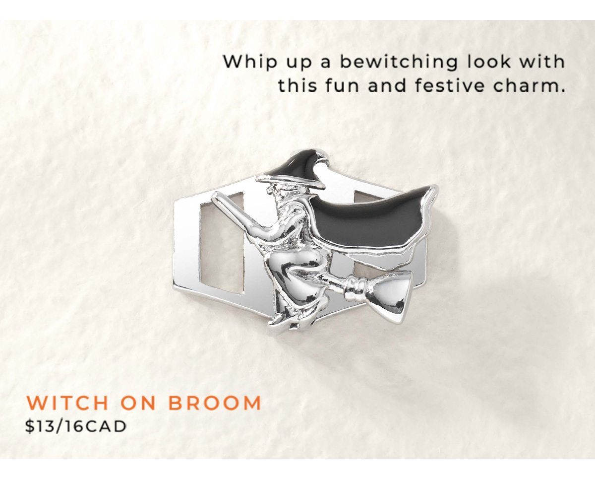 Witch on Broom $13/$16CAD