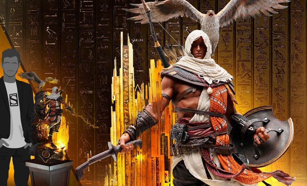 LIMITED EDITION: 1500 Animus Bayek Statue by PureArts