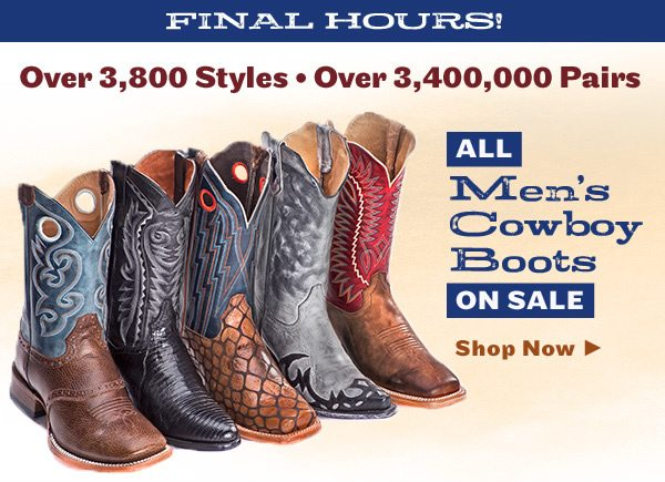 d1a653a4a12 All Cowboy Boots on Sale Now – Shop Over 3,000 Styles in Stock ...