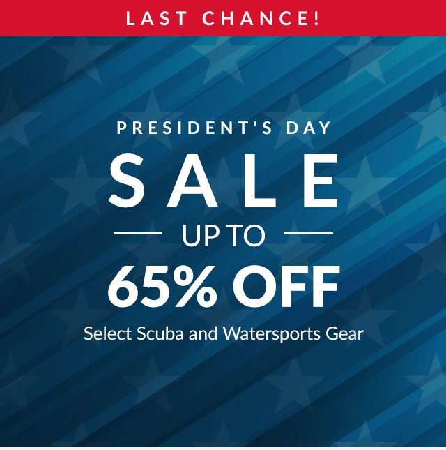 President's Day Sale - Up To 65% Off