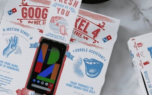 Google and Domino's add pizza to Cyber Monday Pixel deliveries